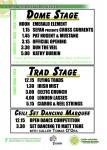 2011 Festival line-up
