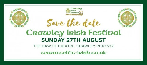 Crawley Irish Festival is 21