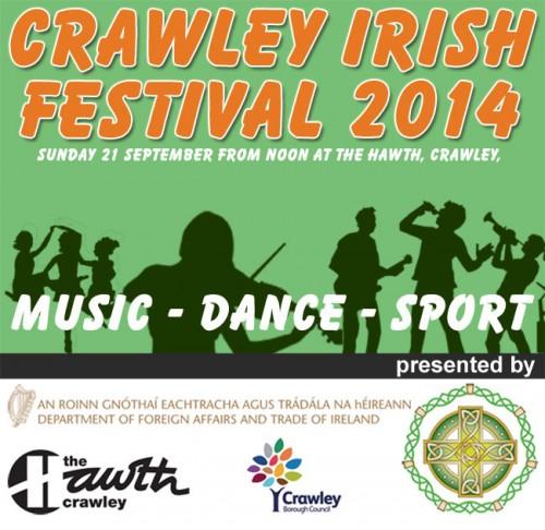 Crawley Irish Festival 2014 Logo