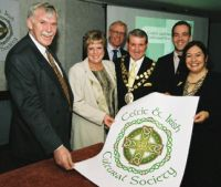 Launch of the Celtic and Irish Cultural Society