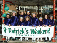 First ever Saint Patrick's Events in Crawley