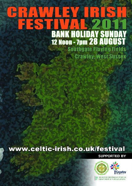 2011 Crawley Irish Festival Programme