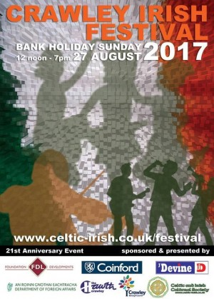 Crawley Irish Festival Front Page