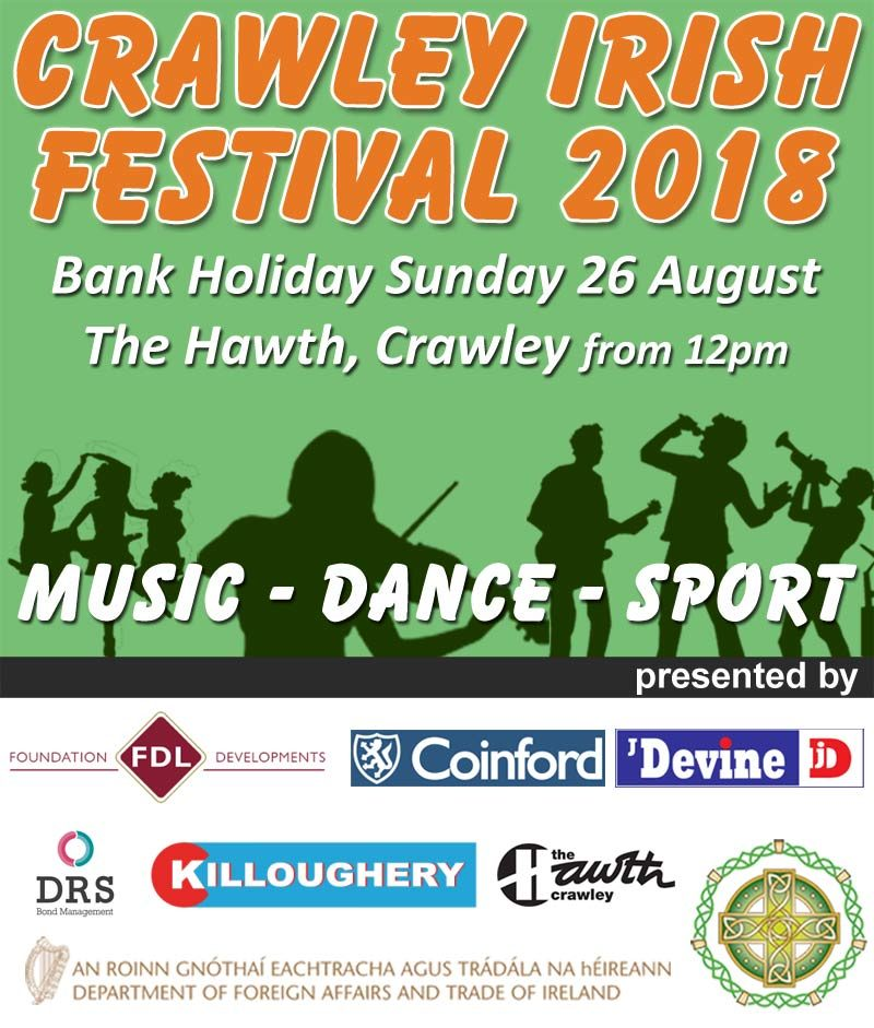 Crawley Irish Festival 2018