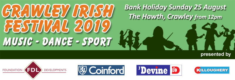 Crawley Irish Festival 2019