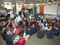 Crawley Irish Shine in School International Day