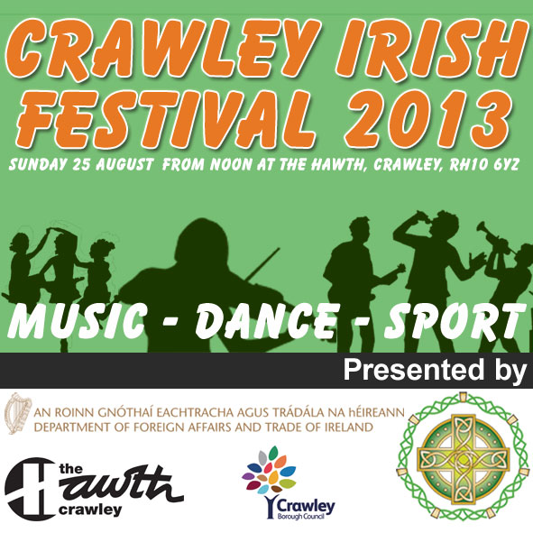 Crawley Irish Festival Logo