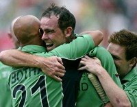 Ireland beat Pakistan on St Patricks Day