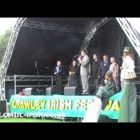 Opening of the 2010 Crawley Irish Festival