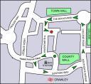 Crawley Saint Patrick�s Parade Route