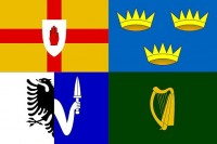 Four Provinces Flag (Clockwise from TP): Ulster, Munster, Connacht and Leinster