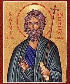 Saint Andrew - Apostle and Patron Saint of Scotland