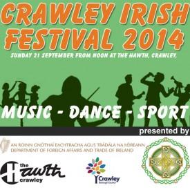 Crawley Irish Festival - Sunday 21 September 2014 at the Hawth, Crawley, RH10 6YZ