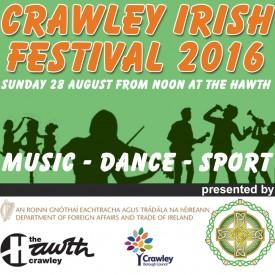 2016 Crawley Irish Festival Logo