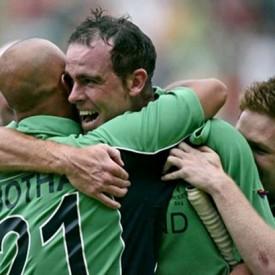 Ireland beat Pakistan on St Patricks Day