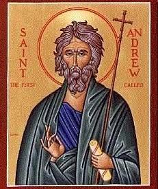 Saint Andrew - Apostle and Patron Saint of Scotland